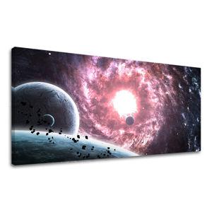 Obraz na stenu PANORÁMA VESMÍR 60x120 cm Zľava 60 % GA007E13/24h (skladom)