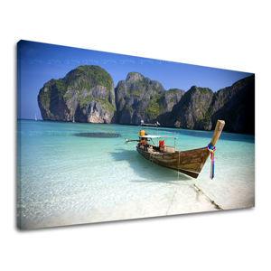 Obraz na stenu Zľava 60 % PLÁŽ 100x150 cm PL007E11/24h (skladom)