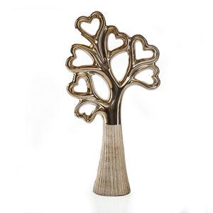 Dekoratívna figúrka GEMMA 21x8x38 cm (keramická soška strom)