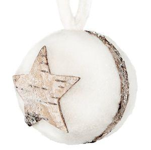 Vianočná guľa LAGUNA 6 ks v balení (9 cm)