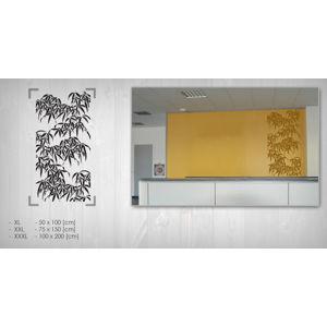 Nálepka na stenu BAMBUSY NABA001 (samolepky na stenu)