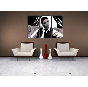 Ručne maľovaný POP Art obraz AL PACINO 3 dielny  al11 (POP ART obrazy)