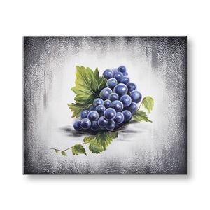 Maľovaný obraz na stenu HROZNO 65x55 cm YOBAM050E1 (skladom)