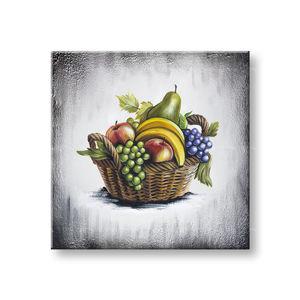 Maľovaný obraz na stenu OVOCIE 70x70 cm YOBAM051E1 (skladom)