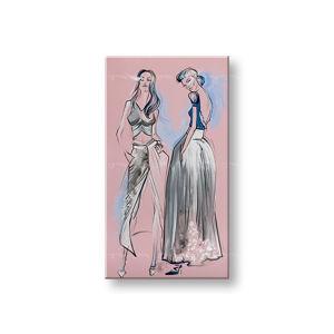 Maľovaný obraz na stenu ŽENY 1 dielny YOBFB579E1 (maľované obrazy FABIO)