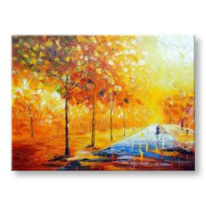 Maľovaný obraz na stenu STROMY BI130E1 (maľované obrazy BIANCA)