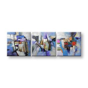 Maľovaný obraz na stenu KVETY FB056E3 (maľované obrazy FABIO)