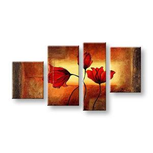 Maľovaný obraz na stenu KVETY FB162E4 (maľované obrazy FABIO)