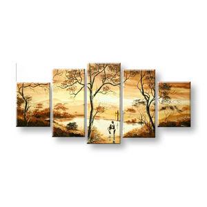 Maľovaný obraz na stenu AFRIKA FB309E5 (maľované obrazy FABIO)