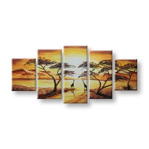 Maľovaný obraz na stenu AFRIKA FB311E5 (maľované obrazy FABIO)