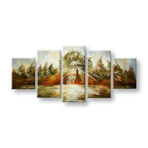Maľovaný obraz na stenu STROMY FB324E5 (maľované obrazy FABIO)