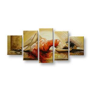 Maľovaný obraz na stenu ŽENA FB372E5 (maľované obrazy FABIO)