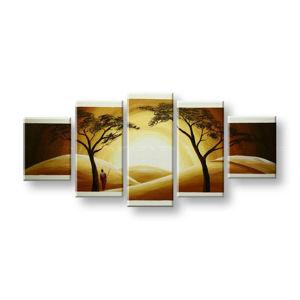 Maľovaný obraz na stenu AFRIKA FB383E5 (maľované obrazy FABIO)