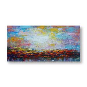 Maľovaný obraz na stenu ABSTRAKT FB509E1 (maľované obrazy FABIO)