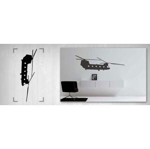 Nálepka na stenu HELIKOPTÉRA NAH020 (samolepky na stenu)