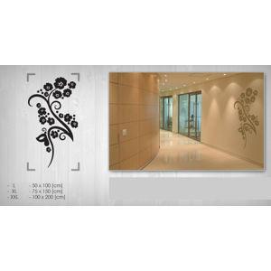 Nálepka na stenu KVETY NAK090 (samolepky na stenu)