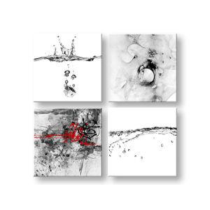 Obraz na stenu Abstract moments 4 dielny XOBKOL22E42 (moderné obrazy na plátne )