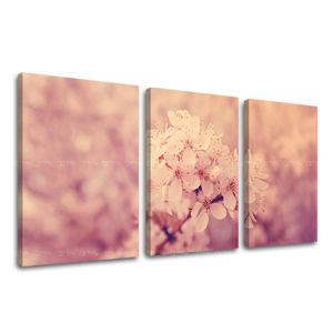 Obraz na stenu 3 dielny KVETY KV049E32 (moderné obrazy na plátne)
