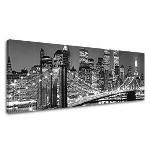 Obraz na stenu Super Panoráma MESTO ME036E14 (moderné obrazy na plátne)