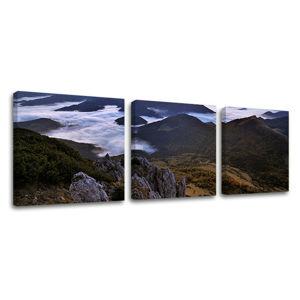Obraz na stenu 3 dielny SLOVENSKO SK012E33 (moderné obrazy na plátne)