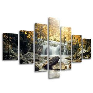 Obraz na stenu 7 dielny VODOPÁDY VO004E70 (obrazy na stenu)