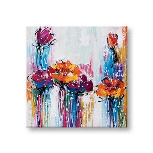 Maľovaný obraz na stenu ABSTRAKT 1 dielny CFAAB015 - 60x60 cm (maľované obrazy)